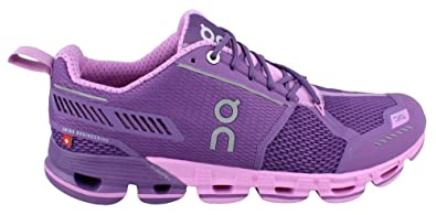 On Cloudflyer (purple / rose) - 41 EUR · 9,5 US
