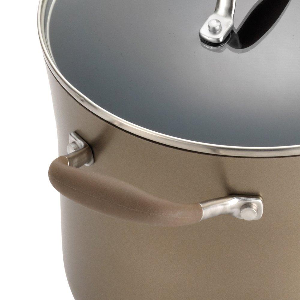 Anolon Advanced Bronze Hard Anodized Nonstick 3.5-Quart Covered Chef's Casserole by Anolon (Image #5)