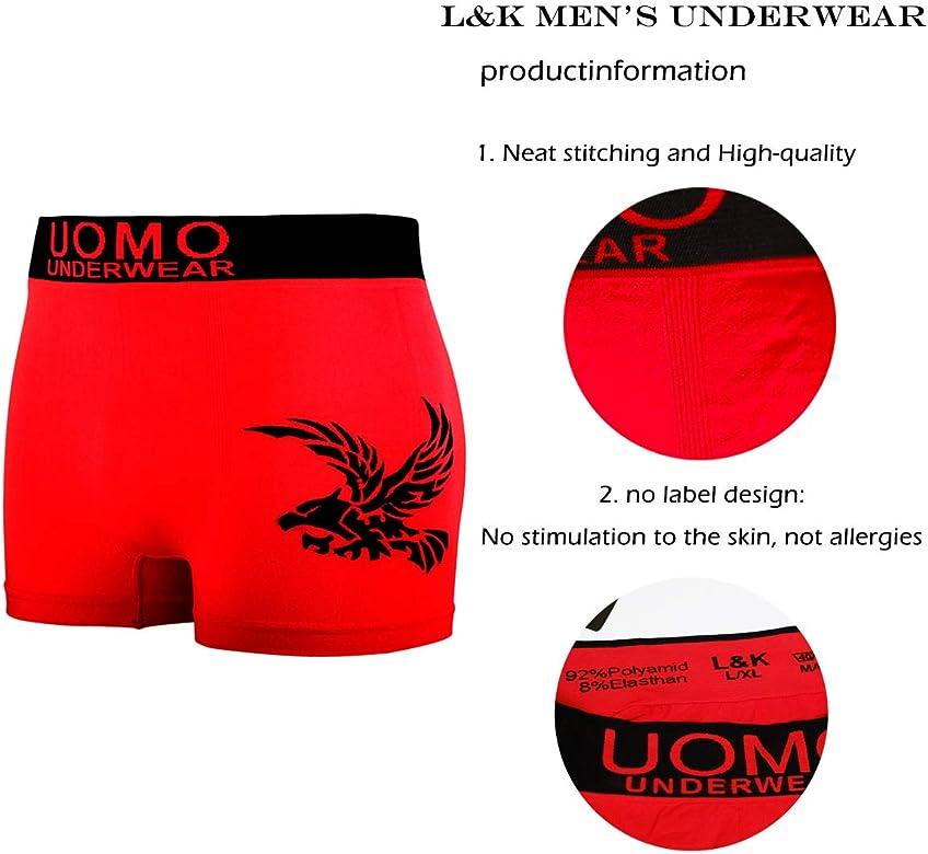 L&K Bóxer de Microfibra para Hombre Multicolor 1209, Pack de 10 S/M: Amazon.es: Ropa y accesorios
