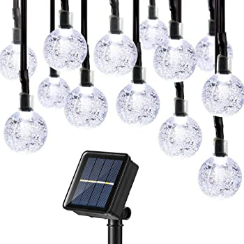 Joomer Upgraded Globe Solar String Lights