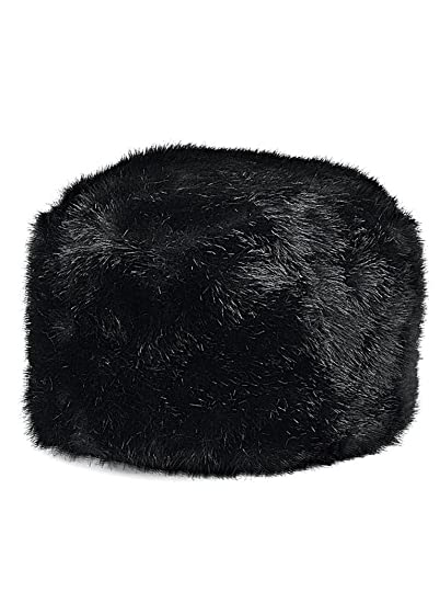 b53c383ed79 AmeriMark Faux Fur Hat Black at Amazon Women s Clothing store