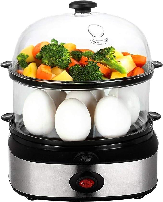 Egg Cooker,Three Layer Egg Steamer Egg Boiler Household Multi ...
