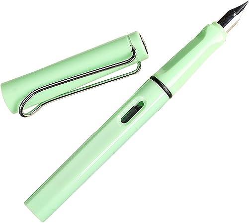 Imagen deColorida Nueva Moda 0.5mm Pluma Estilográfica de Alta Calidad Reemplazable Tinta Pluma Estudiante de escritorio