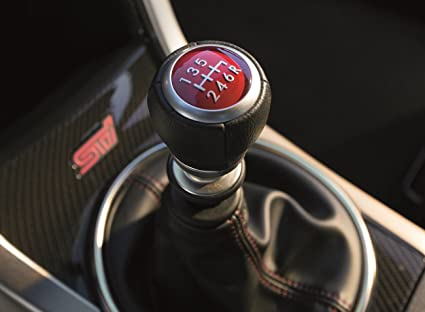 amazon com subaru 35022va000 oem leather shift knob 6 speed manual rh amazon com subaru 6 speed manual transmission subaru 6 speed manual transmission problems