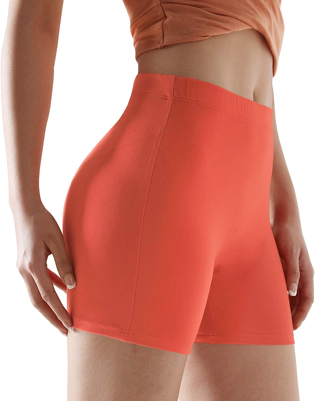 ODODOS Women's Camel Toe Free Fashion Shorts & Capris, Buttery Soft Slim Shorts & Capris 25+ Colors