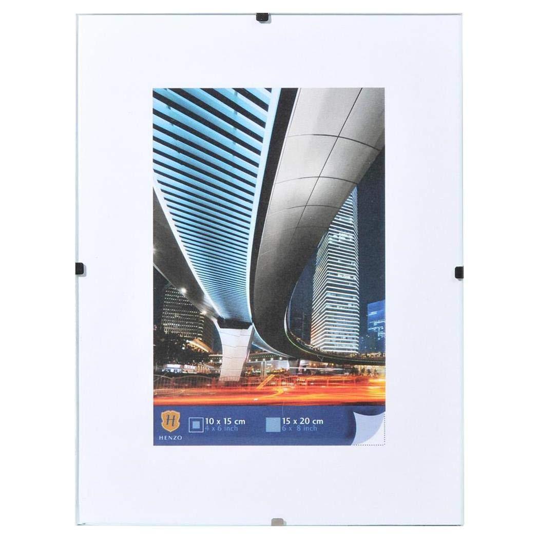 Klarglas Rahmenloser Bildhalter 30x30 cm
