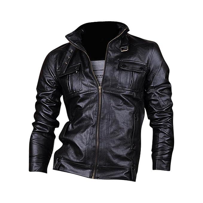 3 opinioni per jeansian Cappotti Di Pelle Uomo Inverno Moda Giacca Uomini Tendenza Cappotto