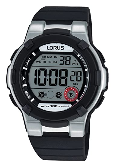 Lorus Watches de Mujer Reloj de Pulsera Deportivo Digital Cuarzo Caucho r2353kx9: Amazon.es: Relojes