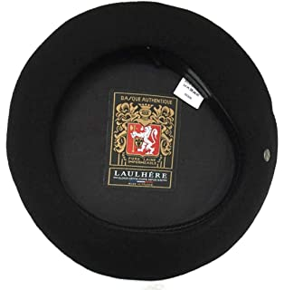 Laulhere Heritage Vrai Basque French Anglobasque Wool Beret at ... 09a57206d287