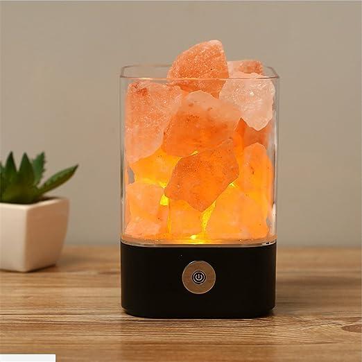 YL-Light USB Himalayan Salt Lamp Natural Crystal Led Pequeña ...