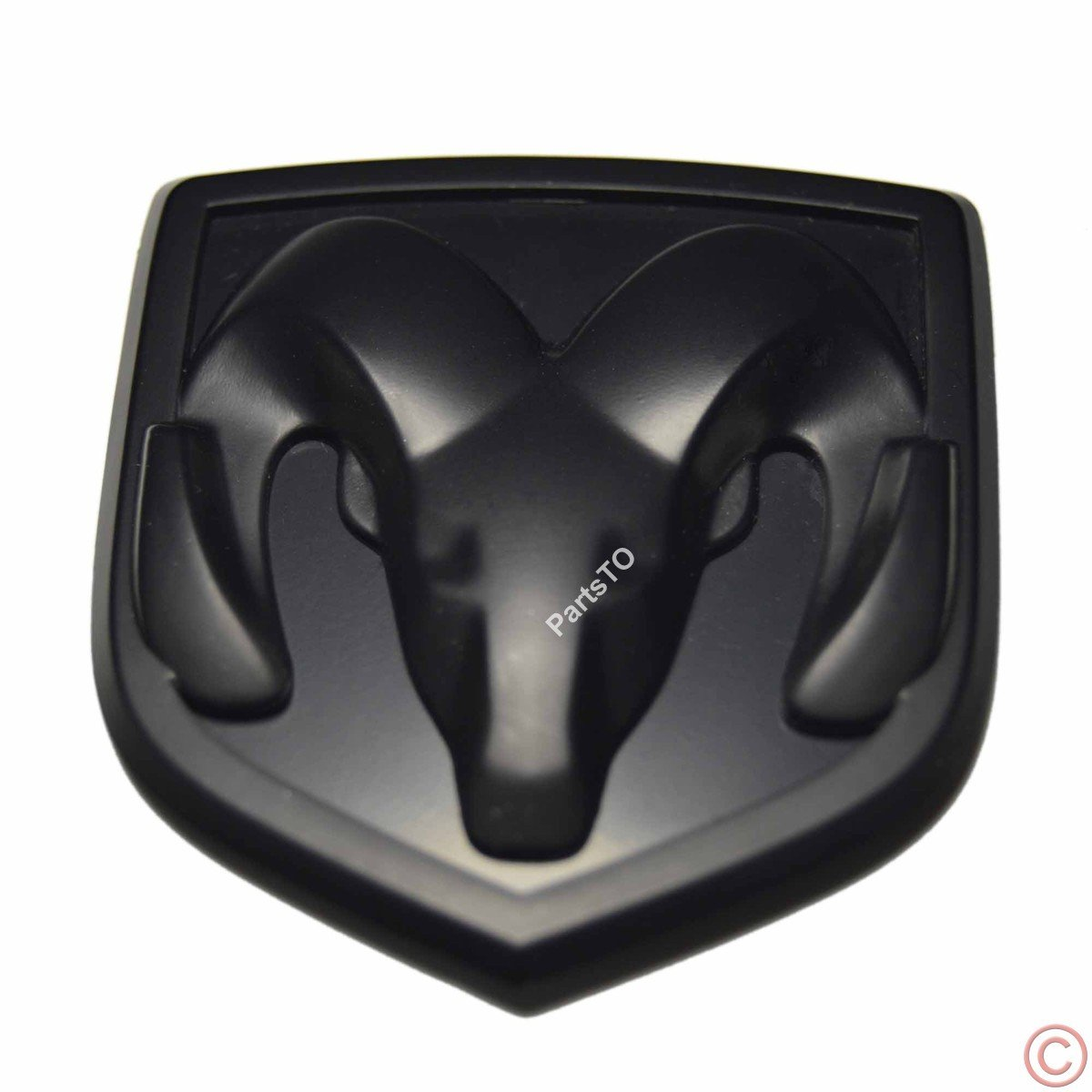 PartsTo Front Hood Grille or Rear Trunk Emblem Badge for Dodge Charger Challenger Stratus Parsto