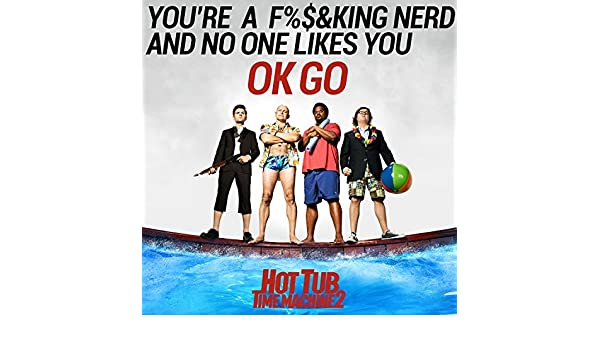 your a fucking nerd and no one likes you