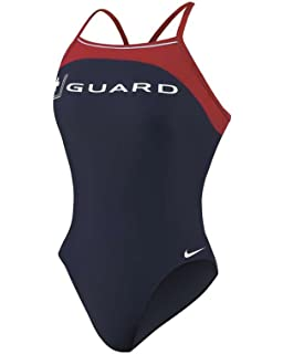 b5fc3e1c722 Amazon.com : NIKE SWIM Lifeguard swimsuits - Sport Top 2pc ...