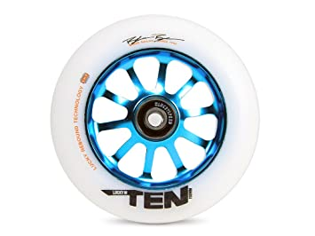 Rueda Completa Patinete Lucky Ten 110mm (110mm - Teal ...