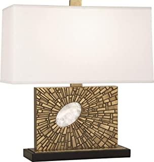product image for Robert Abbey 416 Goliath - One Light Table Lamp, Shade Options: Pearl Dupioni Silk
