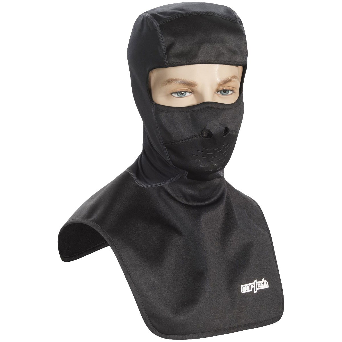 Cortech Journey FC Adult Balaclava Winter Sport Snowmobile Helmet Accessories - Black / One Size Fits Most