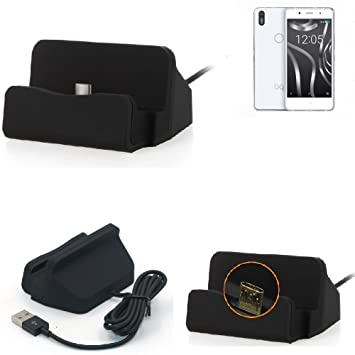 K-S-Trade Base de Carga para BQ Aquaris X5 Plus Micro USB ...