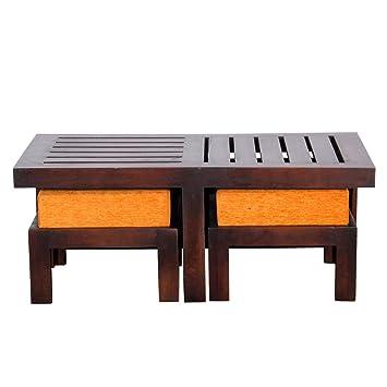Ringabell Altavista Perk Solid Wood Coffee Table  Brown