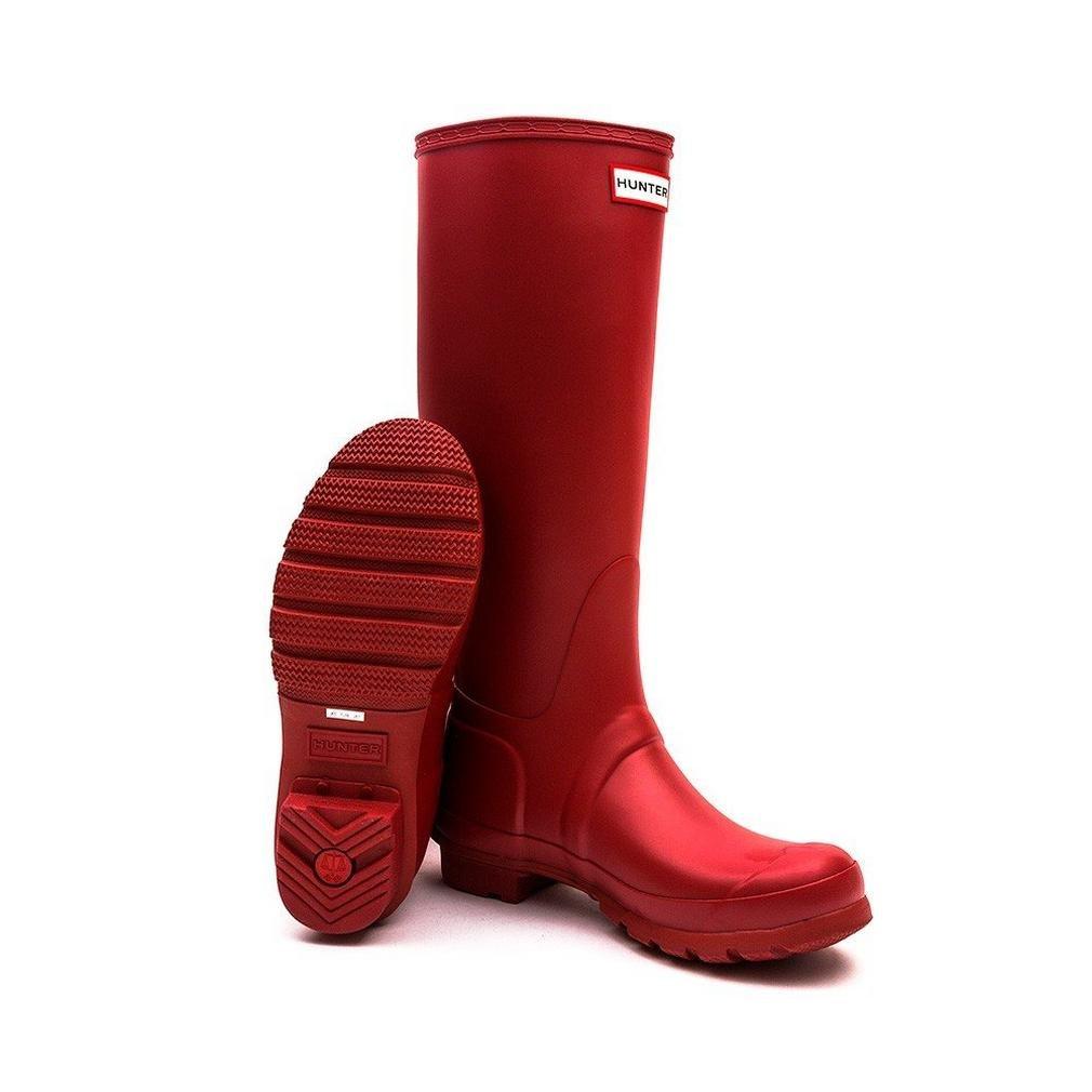Hunter Women's Original Tall Wellington Boots, Red - 8 UK 42 EU 10 US by Hunter (Image #4)