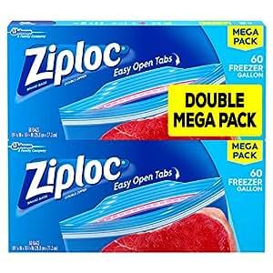 Amazon.com: Bolsas para congelador, galón, mega ...