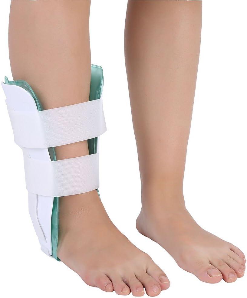 Soporte para tobillo respirable tobillo ortopédico ortesis para pie tobillo estabilizador para tobillo con gel protección para tobillo ideal para la recuperación de esguinces y artritis