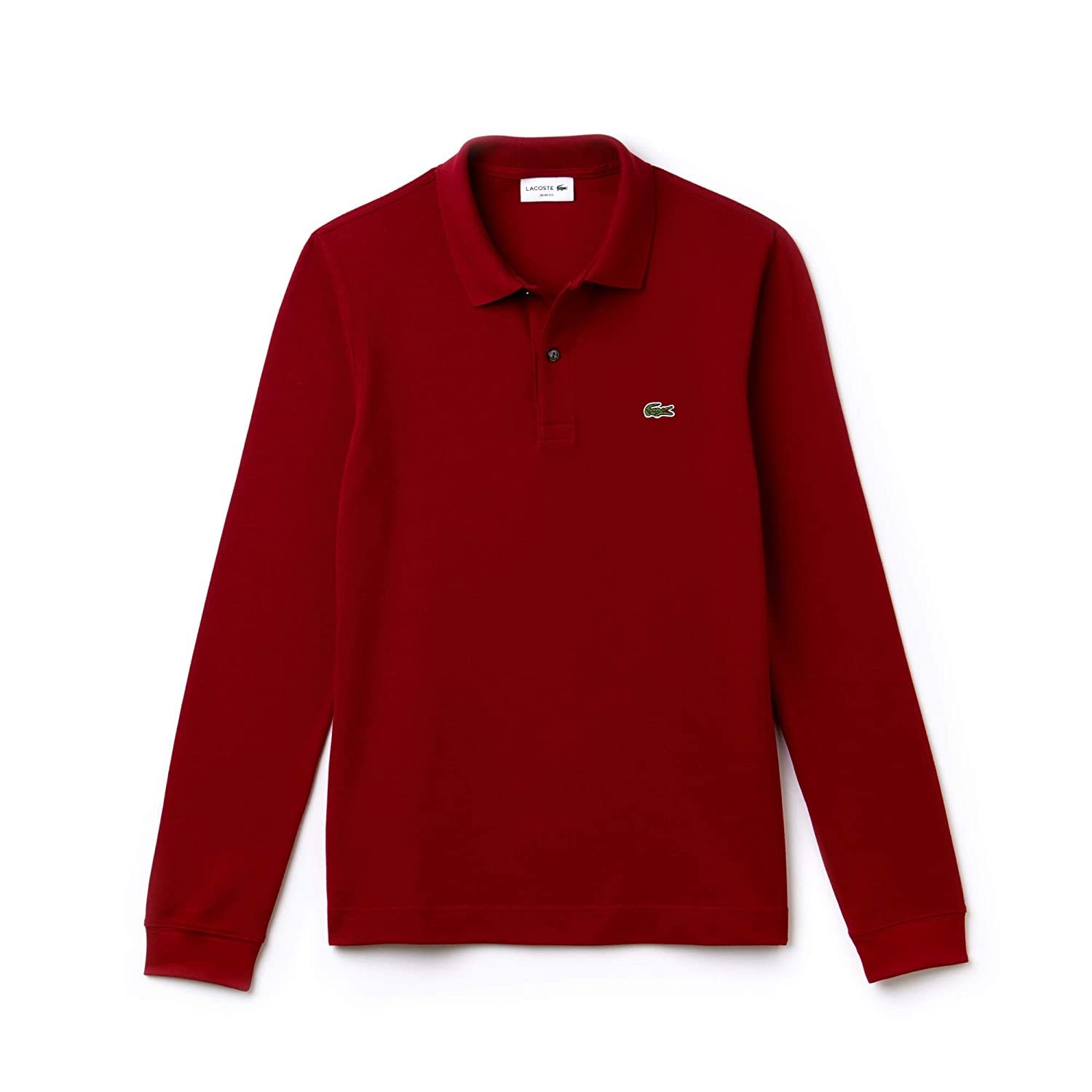 Rouge (Bordeaux 476) XXXX-grand  Lacoste, Polo Slim Fit Homme