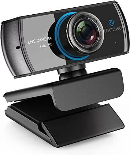 LOGITUBO CáMara Web, Webcam Full HD 1080P Doble MicróFono para Videollamadas y GrabacióN Web para Ordenador PortáTil Ordenador de sobre Mesa Mac RetransmisióN de TV En Directo en OBS Facebook: Amazon.es: Electrónica