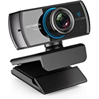 LOGITUBO Webcam 1080P/1536P Live Streaming Camera with Microphones Web Cam Works with XBox One/PC/Macbook/TV Box Support OBS/Facebook/YouTube