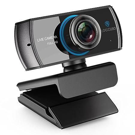 LOGITUBO HD Webcam 1080P/1536P Streaming Kamera mit Mikrofone Video Chat und Aufnahme PC Web Cam für Windows Mac XBox One unt