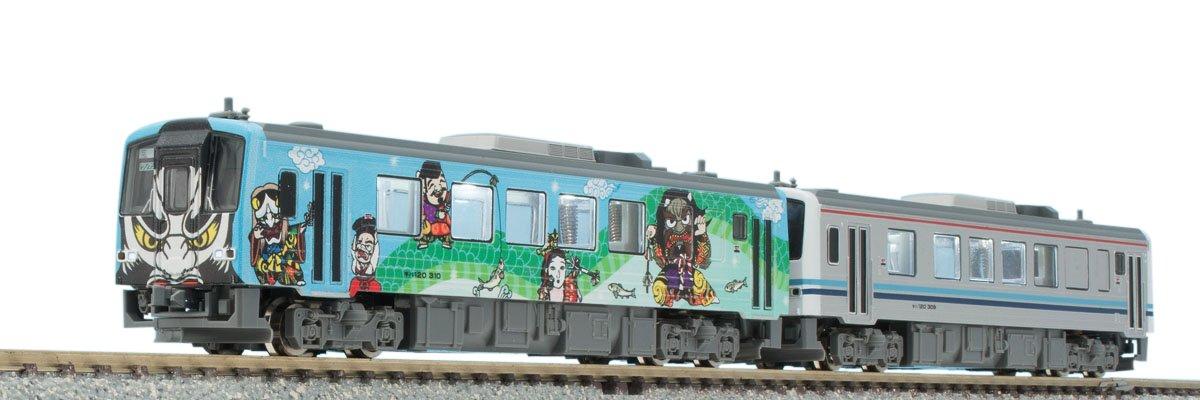 TOMIX Nゲージ 限定 キハ120 300形ディーゼルカー 三江線  三江線神楽号 セット 2両 98986 鉄道模型 ディーゼルカー (メーカー初回受注限定生産) B0787XZ337
