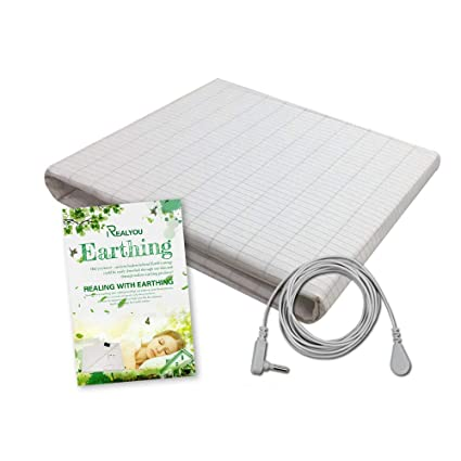 Earth Connection/Grounding Mat for Better Sleep, Reduce Pain and  Inflammation, Reconnect to The Earth EMF Recovery,Fits Full Size beds,Safe  for Kids