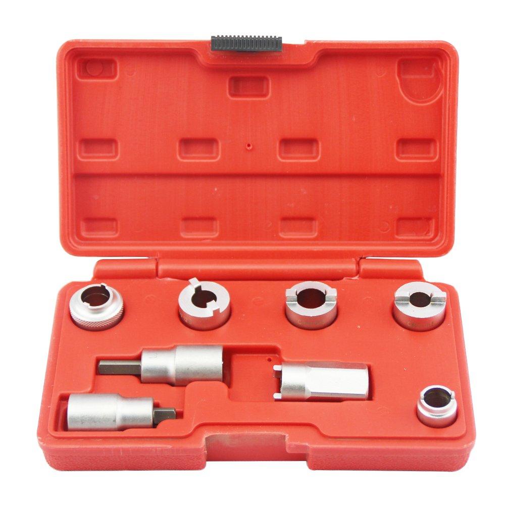 8PC STRUT NUT Tools SOCKETS Allen Key BITS Set - Suspension Tools
