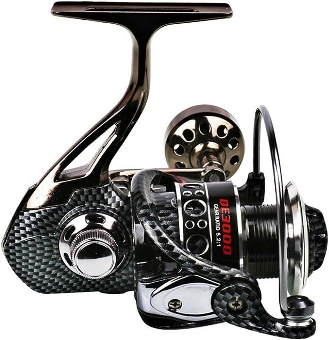 VORCOOL Carrete de pesca spinning 12 + 1 BB Light y Ultra Smooth ...