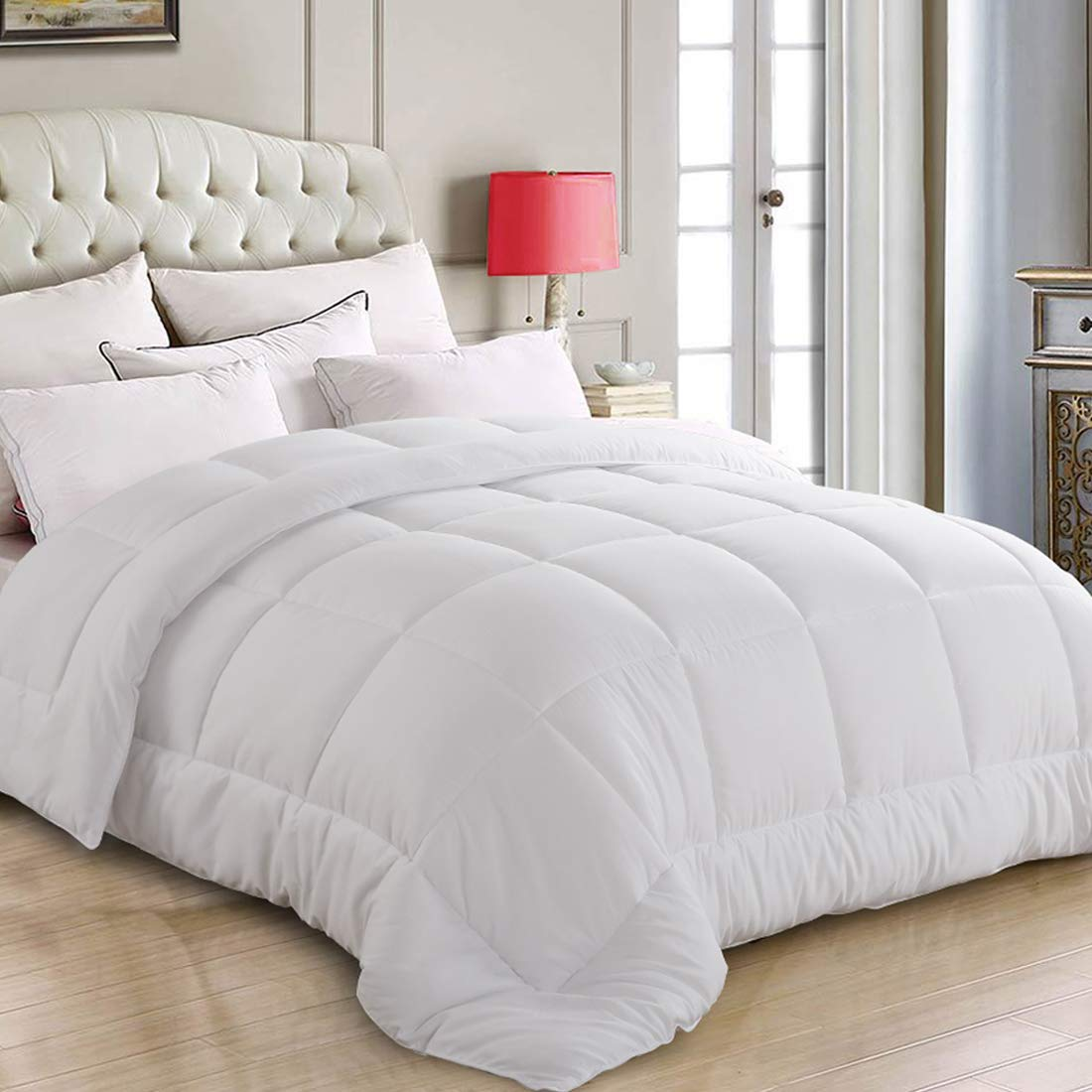 Amazon Com Thland King Size Comforter Fluffy Soft Quilted Down
