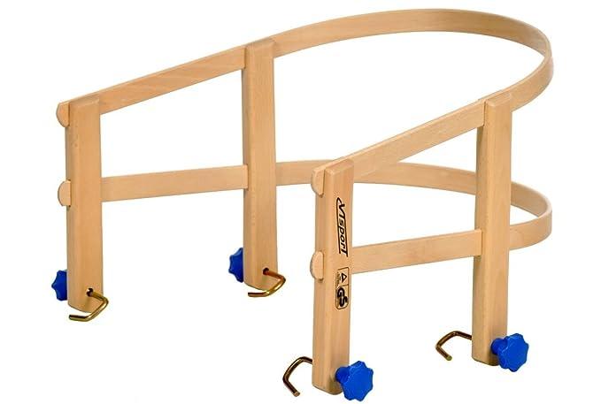 Schlitten Lehne aus lackiertem Buchenholz Holzlehne für Davos Schlitten