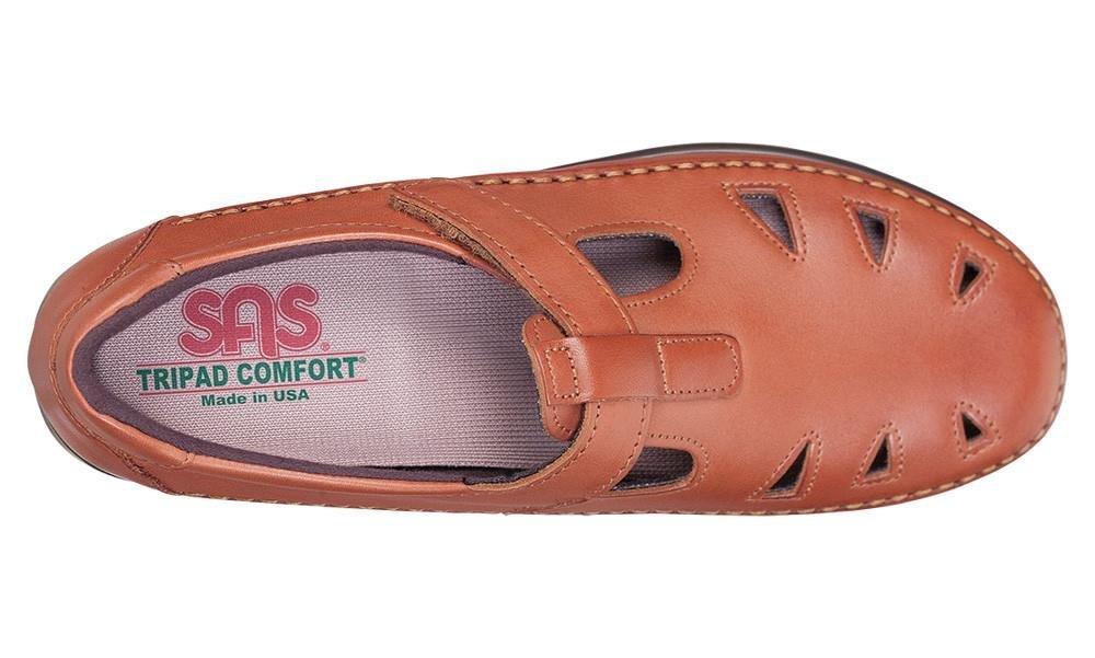 SAS Women's Roamer Slip-on B00UZNEC2Y 9 M (M) (B) US Chestnut