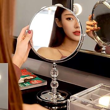 5e72b96e2b2a Amazon.com : GloDeals 7-inch Makeup Vanity Mirror 3x Magnifying ...