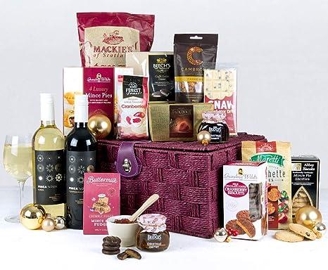 Christmas Hampers.Xmas Hamper Yuletide Christmas Gift Basket Luxury