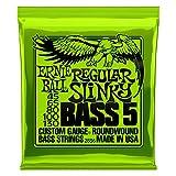 Ernie Ball 2836 Regular Slinky 5-String Nickel Wound Bass Set (45-130)
