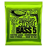 Ernie Ball 5-String Regular Slinky Nickel Wound Bass Set, .045 - .130