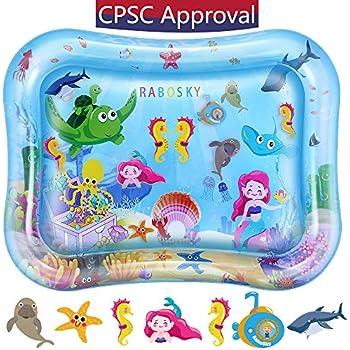 Amazon Com Splashin Kids Inflatable Tummy Time Premium
