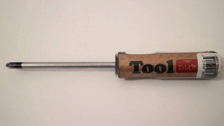 ToolDub Classic Industrial Stubby Unbreakable Non-Slip Fix Magnetic Screwdriver Phillips Head 1.5 Inch 40 mm