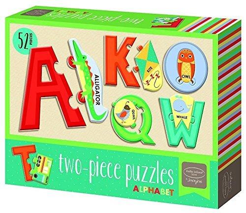 Bendon Publishing Kathy Ireland Alphabet Puzzle (2-Piece)