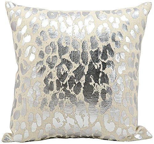 Kathy Ireland Worldwide Kathy Ireland A3245 Silver Decorative Pillow by Nourison, 18
