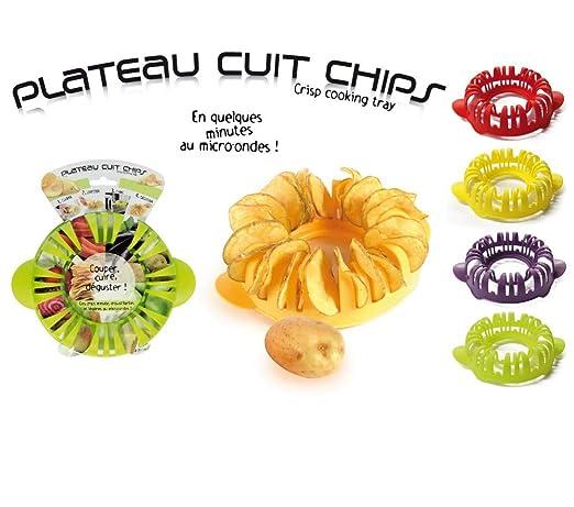 Plato para hacer patatas fritas en el microondas, plástico ...