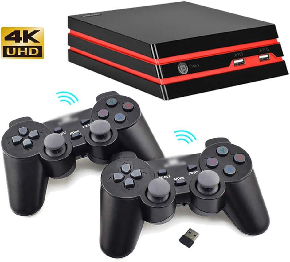 64-Bit HD Playstation, Retro HDMI Interfaccia Games Console con Controller di Gioco Consente di Risparmiare Istantaneamente Gioco E Built-in 600 Giochi Classici E La Memoria 8G,Wireless / Amazon.it