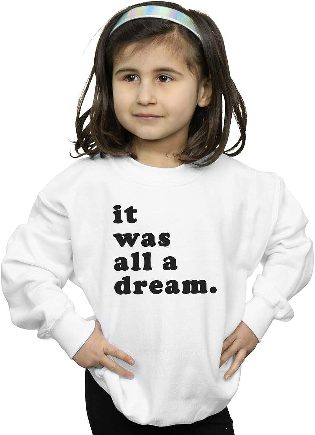 ABSOLUTECULT Notorious Big Girls Dream Text Sweatshirt