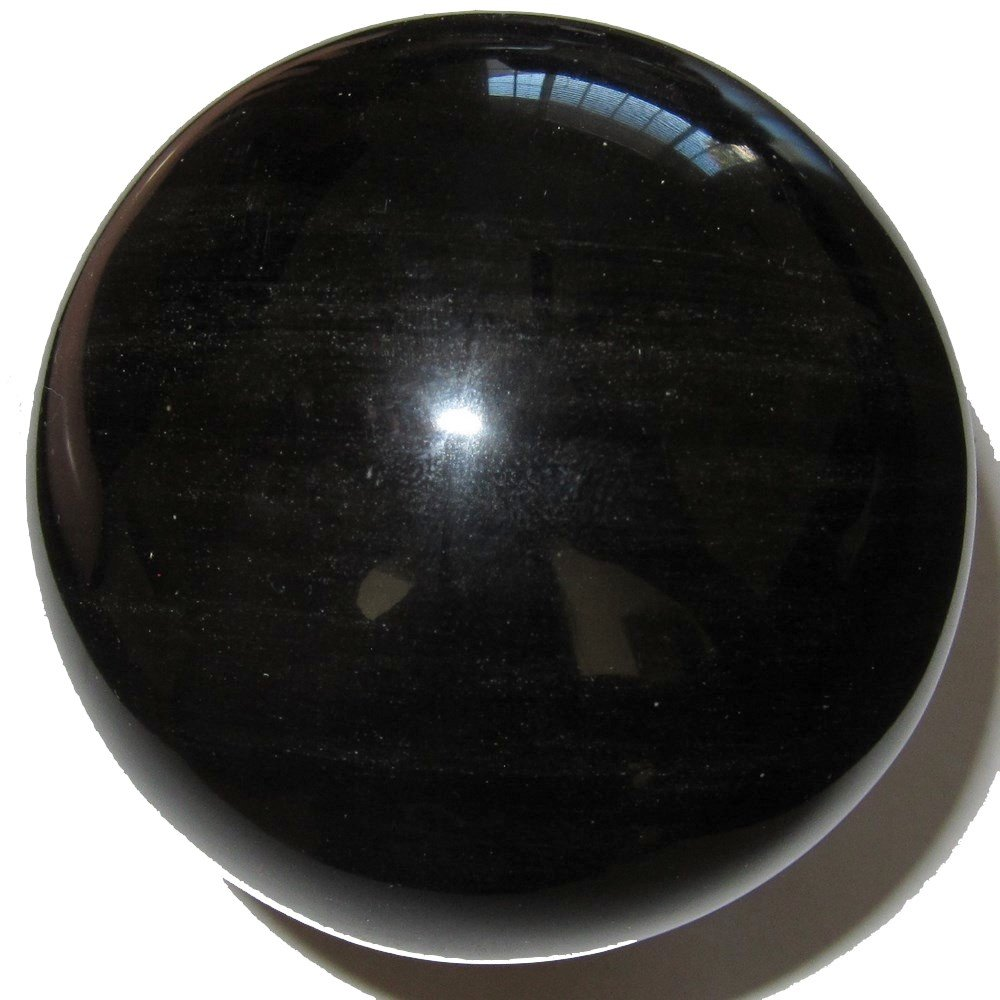 Obsidian Ball Gold 22 Gorgeous Golden Eye Crystal Protective Watcher Stone Sheen Sphere 3.3 Satin Crystals obsidianballgold22