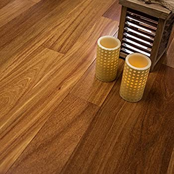 Brazilian Teak Prefinished Engineered 5 X 12 Wood Flooring