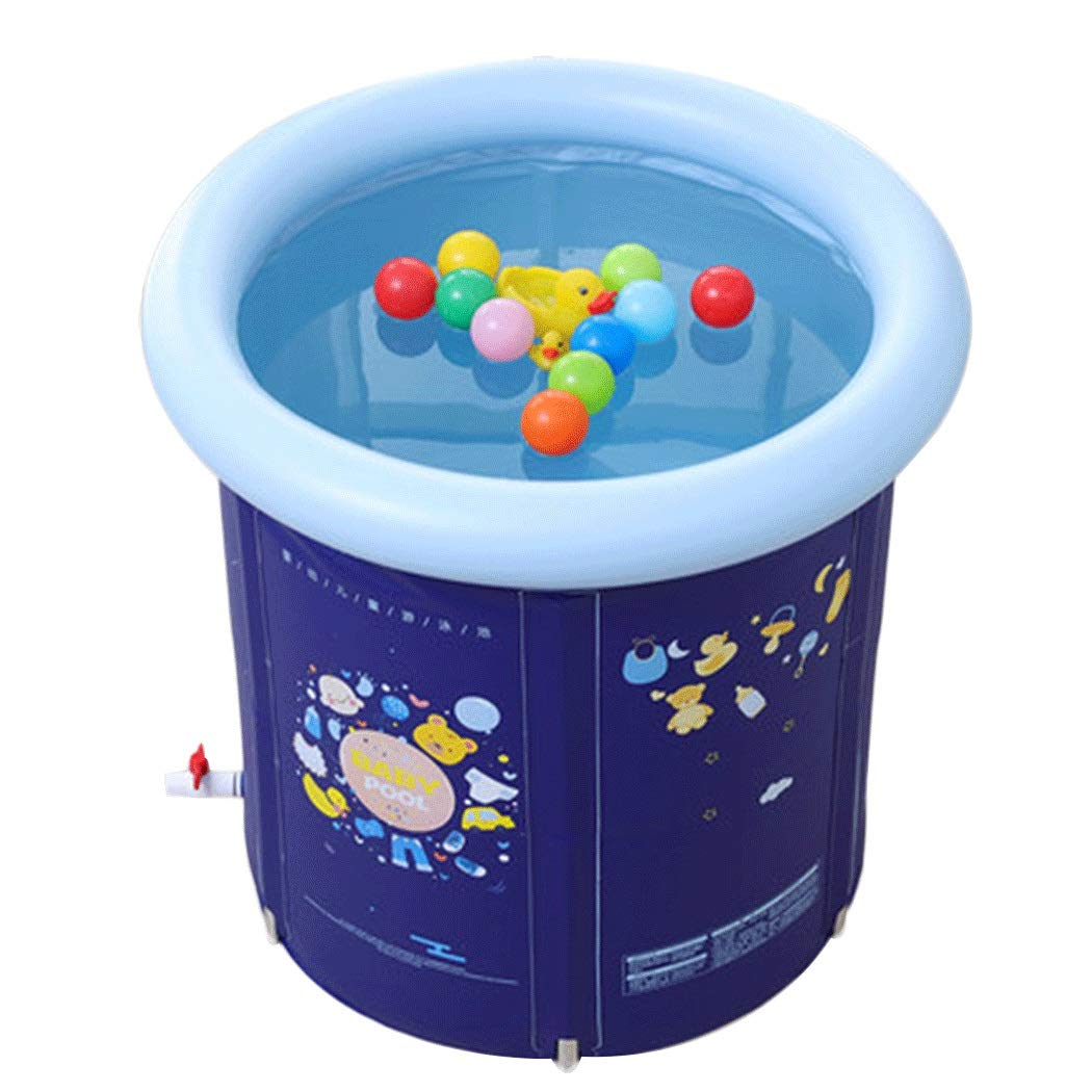 YUNHAO Bracket Baby Swimming Pool Large Baby Insulation Swimming Bucket Home Newborn Baby Swimming Pool 80 80cm a (Size : 80cm80cm)